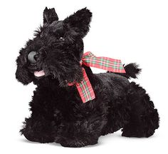 "Stuffed Animal Plush Puppy by Melissa & Doug ""Maxwell"" Scottish Terrier NEW"