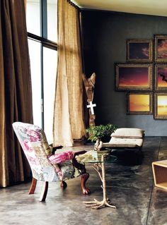 FORTUNATA LIVING - COLOR - EARTH MEETS GLAMOUR IN THESE DESIGNPALETTES