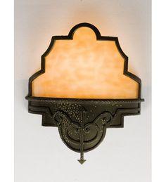 View the Meyda Tiffany 24472   Single Light Up Lighting Wall Sconce at LightingDirect.com.
