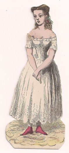 McLoughlin Paper Doll Clara West* 1500 free paper dolls for small Christmas gits and DIY for Pinterest pals The International Paper Doll Society Arielle Gabriel artist ArtrA Linked In QuanYin5 *