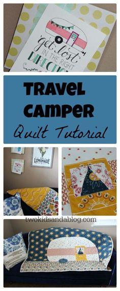 Travel Camper Tutorial - www.sewwhatalicia.com