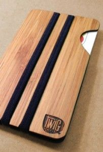 bambusowy portfel