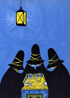 Tomi Ungerer - The 3 robbers