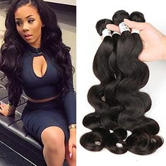 Hismile Human Hair Extension Body Wave Hair Bundles Hair Weaving Natural Color Full Hand Machine Brazilian Human Hair Weft 222426 * Visit the image link more details-affiliate link. #BeautySalonEquipment