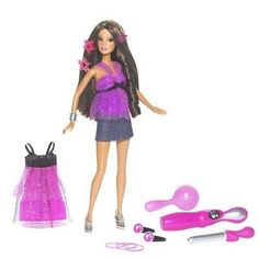Mattel Teresa Totally Hair Wave It by Mattel. $39.98. From the Manufacturer                Girls will love creating waves on Barbie, Teresa and Nikki dolls gorgeous long hair using the hair waving styling tool. A beautiful wavy hair extension is also included and can be worn by either the doll or girl. The dolls include a second trendy fashion for day-to-night transformation, lots of wear-and-share hair accessories and a pretty hairbrush for the doll.                           ...