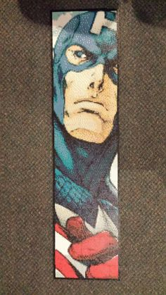Captain America Perler made with 19,044 beads by Spevial101.deviantart.com on @DeviantArt