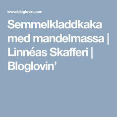 Semmelkladdkaka med mandelmassa | Linnéas Skafferi | Bloglovin'