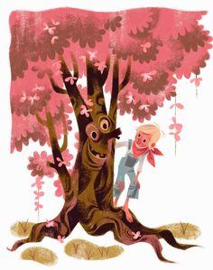 annette marnat: Sous mon arbre