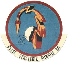 851st Strategic Missile Squadron (851 SMS) is an inactive United States Air Force unit. It was last assigned to the 456th Strategic Aerospace Wing, stationed at Beale Air Force Base, California.  The 851 SMS was equipped with the HGM-25A Titan I Intercontinental ballistic missile (ICBM), with a mission of nuclear deterrence.