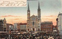 Kościół pojezuicki św. Ignacego Loyoli, Bydgoszcz - 1904 rok, stare zdjęcia