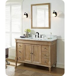 Image On rustic vanity Fairmont Designs V Rustic Chic Modern Bathroom u