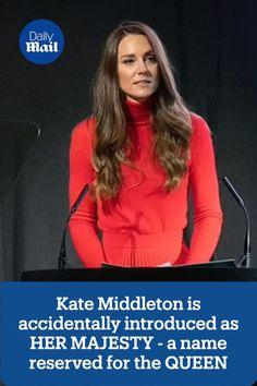 Tv star Declan Donnelly suffered a royal blunder as he introduced, Kate Middleton the Duchess of Cambridge as Her Majesty instead of Her Royal Highness at a charity event yesterday.