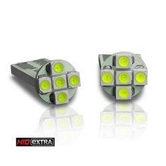 RAZIR T10 5-SMD 3528 Flat Base LED (PAIR) $6.95