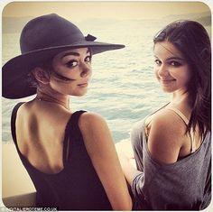 Closer than friends! Sarah Hyland said on Instagram that her and Ariel Winter will 'always be sisters'