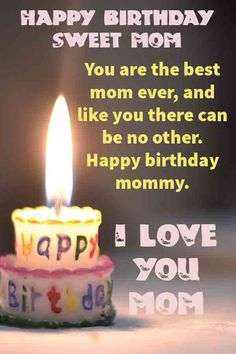 Latest & Famous Birthday Quotes For Mom Birthday Wishes For Mother, Happy Birthday Mother, Happy Birthday Celebration, Birthday Wishes Messages, Best Birthday Wishes, Famous Birthday Quotes, Happy Birthday Quotes, Happy Birthday Cards, Love You Mom Quotes