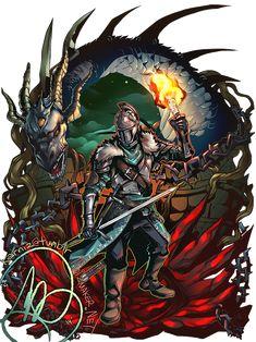 Dark Souls 2,Dark Souls,фэндомы