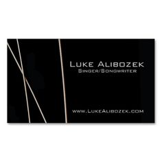 305 best musician business cards images on pinterest business guitar strings musician card business card template colourmoves