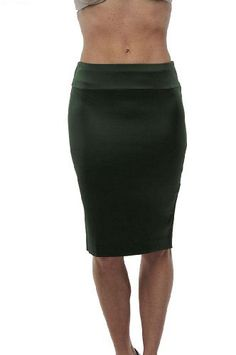 Roberto Cavalli - Pencil Silk Skirt Green, 38, Green Roberto Cavalli. $144.40