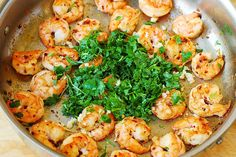Cilantro-Lime Shrimp Pasta
