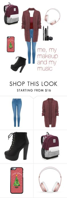 """""""Me, My Makeup and My Music"""" by empero ❤ liked on Polyvore featuring George, WearAll, Victoria's Secret, Beats by Dr. Dre, Rodial and plus size clothing"""