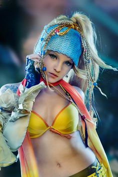 Rikku - Final Fantasy X. I'm such a sucker for a good cosplay costume.
