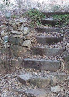 Short RR Ties steps