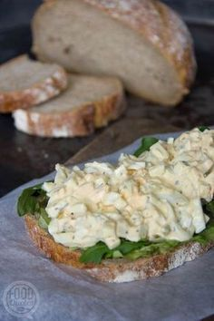 Egg salad without mayonnaise - FoodQuotes - Egg salad without mayonnaise - Healthy Recipes, Raw Food Recipes, Low Carb Recipes, Healthy Snacks, I Love Food, Good Food, Yummy Food, Easy Healthy Breakfast, Breakfast Recipes