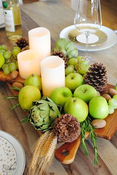 Talk about a fresh centerpiece! Try an edible arrangement this holiday season.