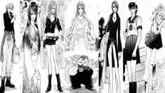 Incarnations of Kyoko by ~LadyKailitha on deviantART (#SkipBeat!)
