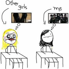 Yeah.. .But my bff is like me! XD and not all girls are like that. Still funny!