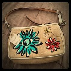 I just discovered this while shopping on Poshmark: Spring Coach bag. Check it out!  Size: OS