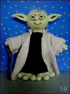 Yoda Knit Doll Pattern