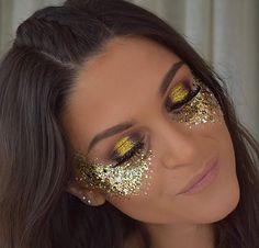 Glitter festival #glitters #makeup #festival