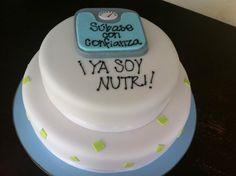 Graduation cake! - Nutritionist :D