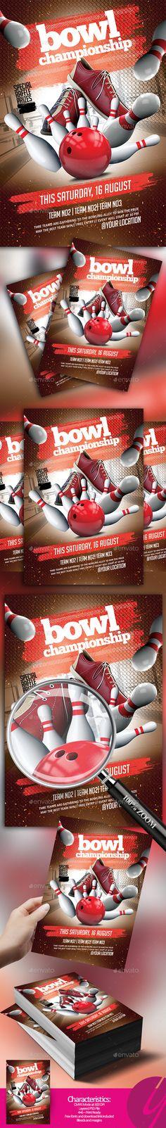 Bowl Championship Flyer - Sports Events