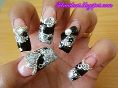 3D Nail Art: My Bday Bling