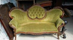 Carved sofa (Craigslist)