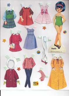 Paper Dolls Dress Up