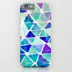 Pastel Triangle iPhone & iPod Case