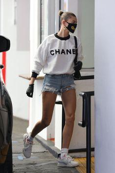 Hailey Baldwin Beverly Hills May 2020 – Star Style Fashion Fail, Star Fashion, Look Fashion, Runway Fashion, Womens Fashion, Fashion Trends, Estilo Hailey Baldwin, Hailey Baldwin Style, Celebrity Summer Style