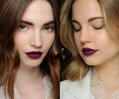 Dark lipstick is THE beauty trend you need to try this Autumn, here's how to wear it well...