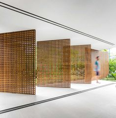 Casa Branca by Studio MK27 | http://www.yellowtrace.com.au/perfectly-perforated/