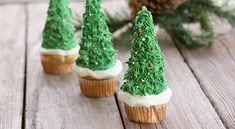 Δημιουργία - Επικοινωνία: Χριστουγεννιάτικα Δεντράκια Cupcakes - Christmas T...