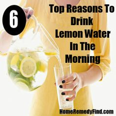 Health conscious individuals extol the virtues of drinking lemon water in the morning, preferably on an empty stomach. Lemon Water In The Morning, Drinking Lemon Water, Different Recipes, Best Diets, Fitness Diet, Home Remedies, Food To Make, The Cure, Health Care