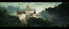 Bran Castle, Romania by Vlad1982.deviantart.com on @DeviantArt