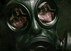 Photograph Gas mask terror by Clinton Lofthouse on 500px
