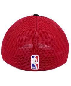 New Era Miami Heat On Court 39THIRTY Cap - Black/Red L/XL