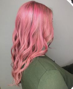 Cotton candy pink, pink hair, curly hair, mid length Lvl Lashes, Keratin Complex, Hair And Beauty Salon, Pink Cotton Candy, Best Brand, Pink Hair, Mid Length, Curly Hair Styles, Stylists