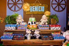 Decoração Festa Infantil de Fazendinha - http://crisdiasfotografia.com.br/decoracao-festa-infantil-de-fazendinha/