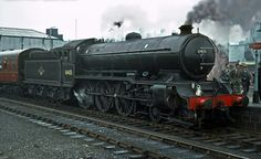 BR (LNER) rebuilt B16 class  4-6-0 Diesel Locomotive, Steam Locomotive, Young Lad, Steam Railway, Old Trains, Steamers, Steam Engine, Locs, 1950s